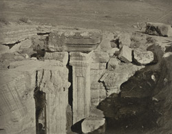 Kashmir. Temple of Avantiswami. Excavated north-east corner of colonnade. Probable date A.D. 852 to 854